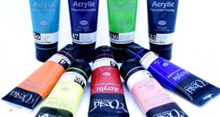 خرید رنگ آکریلیک وستا در حجم و رنگ متنوع
