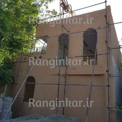 قیمت رنگ کاهگل اصفهان
